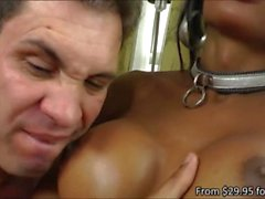 Busty brunette tranny honey Ariadina Oliver gets her tight ass hole screwed