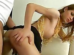Young thai shemale getting fucked hard