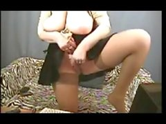 mature granny big boobs busty inflate outdoors pantyhose dildo shemale 59