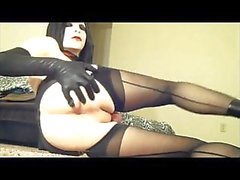 Fetish look crossdresser