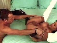 Fucked by a sexy latin shemale