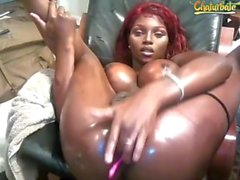 Ebony Tgirl Queen pt.6