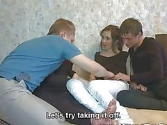 Young Sex Parties Four teens enjoy hot fucking