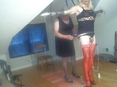 Mistress Samantha and sub Jackie 1