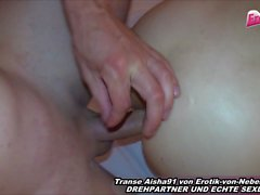 Asia shemale fucks anal and get ass to mouth cumshot in homemade german clip