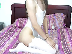 Luna ts ass fucking plaything,Self Facial & Self Piss