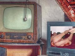 Naked Television 2 by Mark Heffron