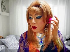 sissy girl niclo sexy fetish heavy makeup