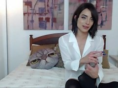 Sweet and Sexy Femboy Smoking and Chatting