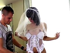 Tranny bride raw ass fuck