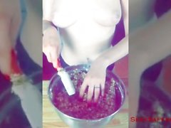 Baking with Saffron! Sexy Snapchat Saturday - June 18th 2016