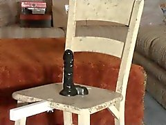 Cock Pedestal Punishment Chair - Intense CBT