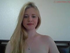 Charming and excited girls from huntgirls flirt in front of webcam
