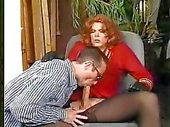 Hot sucking & fucking with cute crossdresser