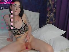 Evelyn on CB cums