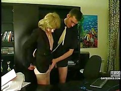 Office Slut Gets Fucked On The Table
