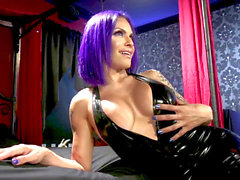 transsexual Foxxy punishes loser boyfriend Mike funk