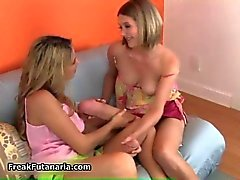 See how this two lesbians get so crazy