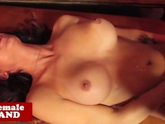 Lapdancing transsexual bareback assfucked