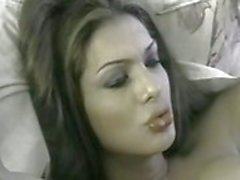 Transsexual Beauty Queen Fucked