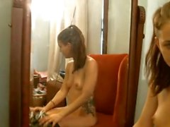 Femboy Rose Marie and Girlfriend part two