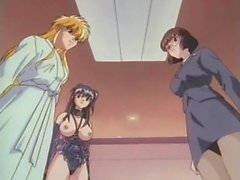 Hentai dickgirl sex with two busty beauties