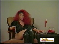 Redhead Crossdresser Talking About Her Sexual Orientation