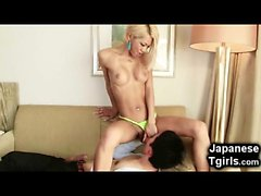 Hot Japanese Tgirl Fucks a Young Boy!