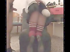 Kitsy. Femboy in puppy mask fucked. Perrita follada.