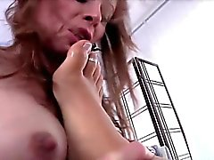 Tgril Ashley dominates Jasmine in anal