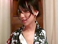 Beautiful Tranny in Komono Likes Nice and Slow Act
