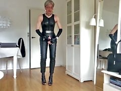 Sissy Hot Sexy Leather
