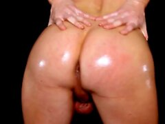 TRANSEROTICA Tbabe Jamie French Cums After Oily Striptease